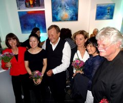 Bildergalerie Vernissage Ying Lin-Sill